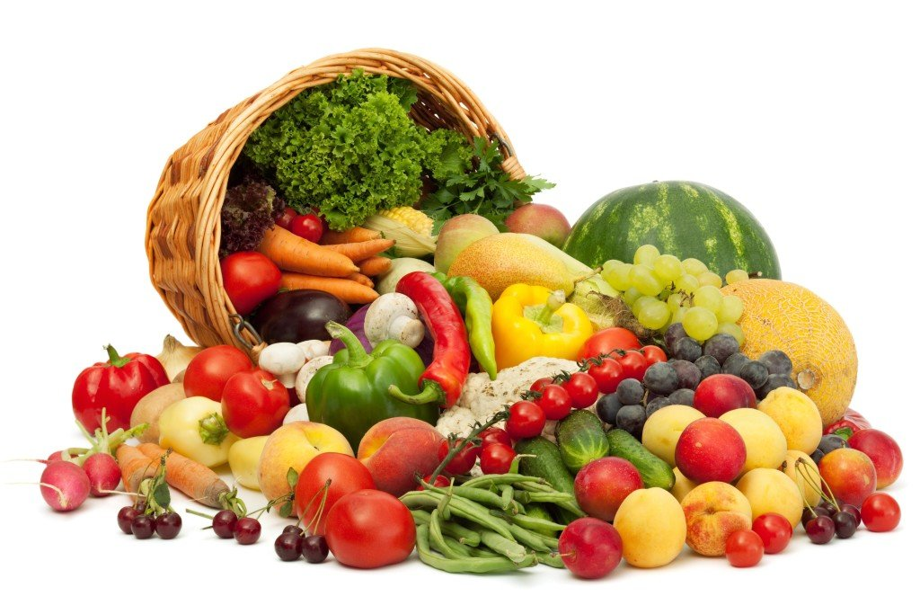 raw vegan diet fruits and vegetables